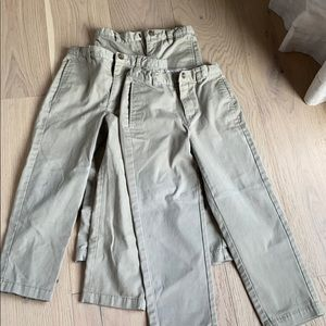 Bundle of boys school uniform pants
